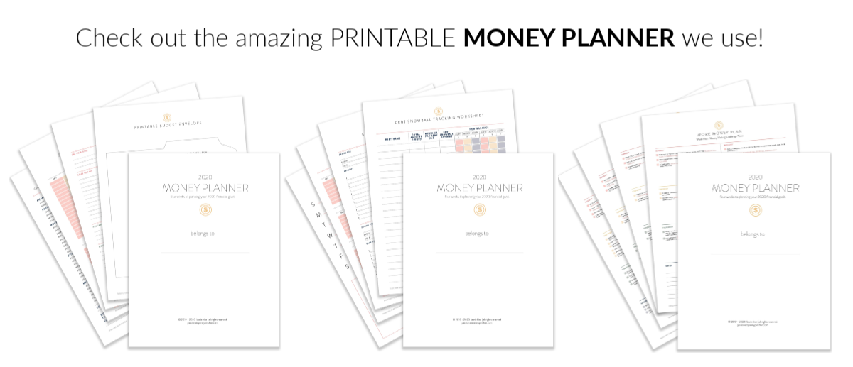 Printable Money Planner