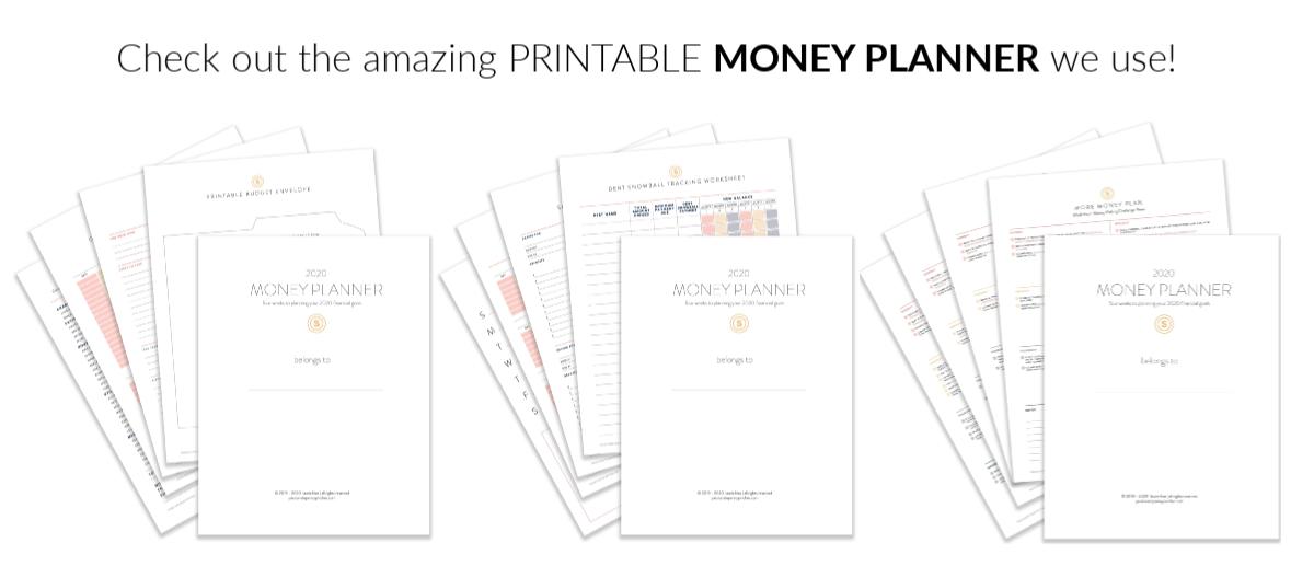 Printable Money Planner
