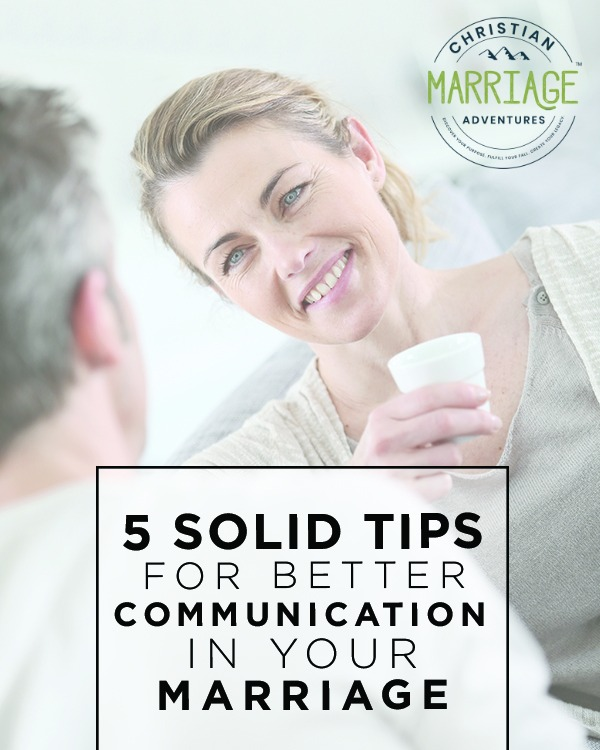 Many marriages fail due to lack of communication. Come see these 5 solid tips for better communication between you and your spouse. :: fulfillingyourvows.com