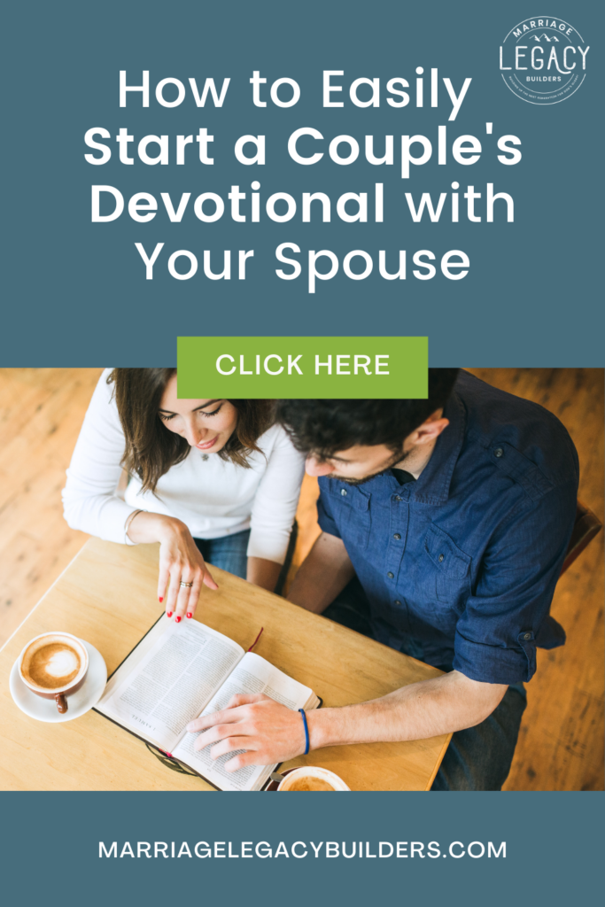 How to Start a Couple's Devotional With Your Spouse
