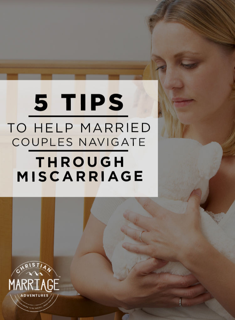 Carlie shares her heart about the devastating loss of miscarriage and gives us 5 tips to help married couples navigate through this painful loss.