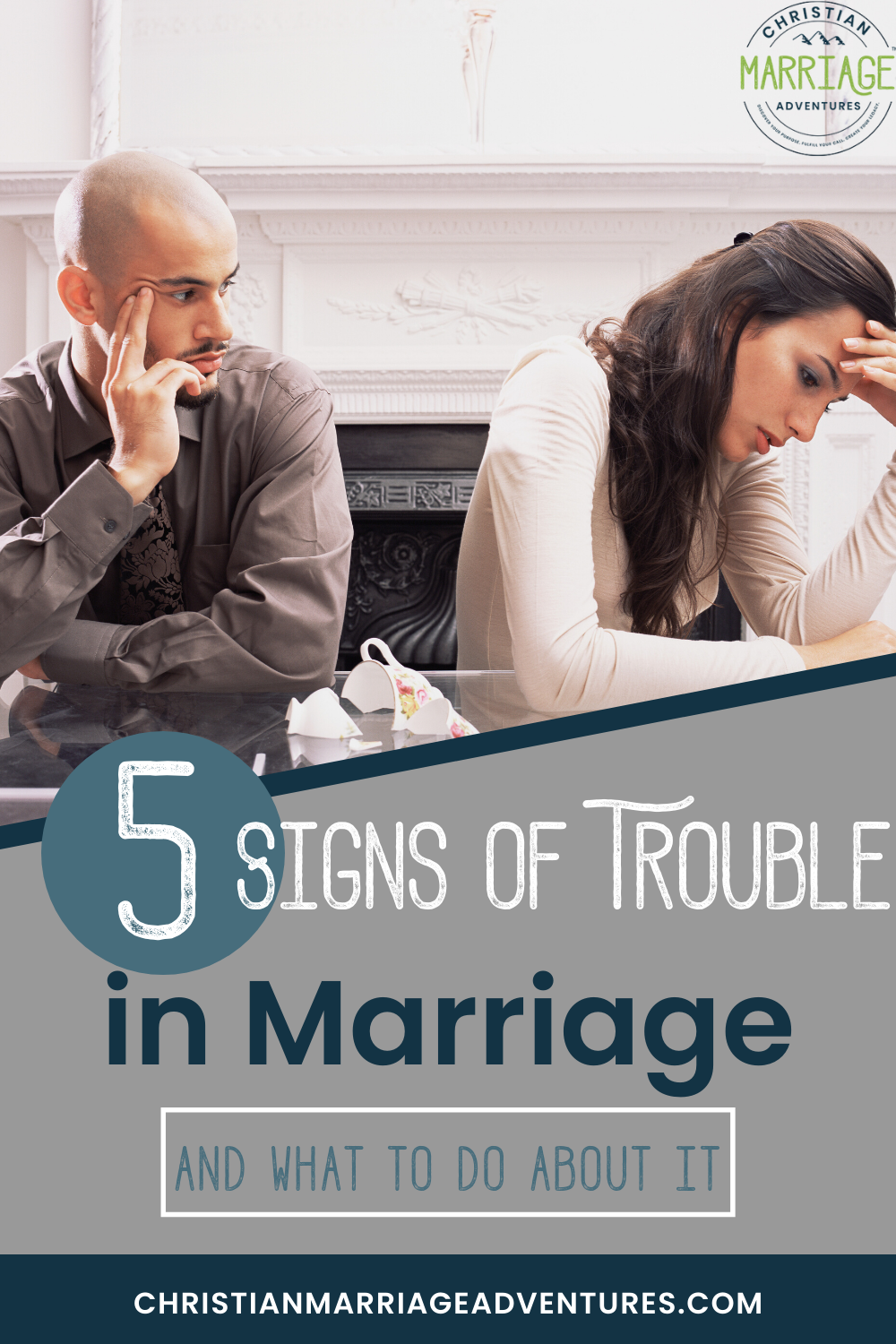 5 signs of trouble in marriage - and what to do about it.