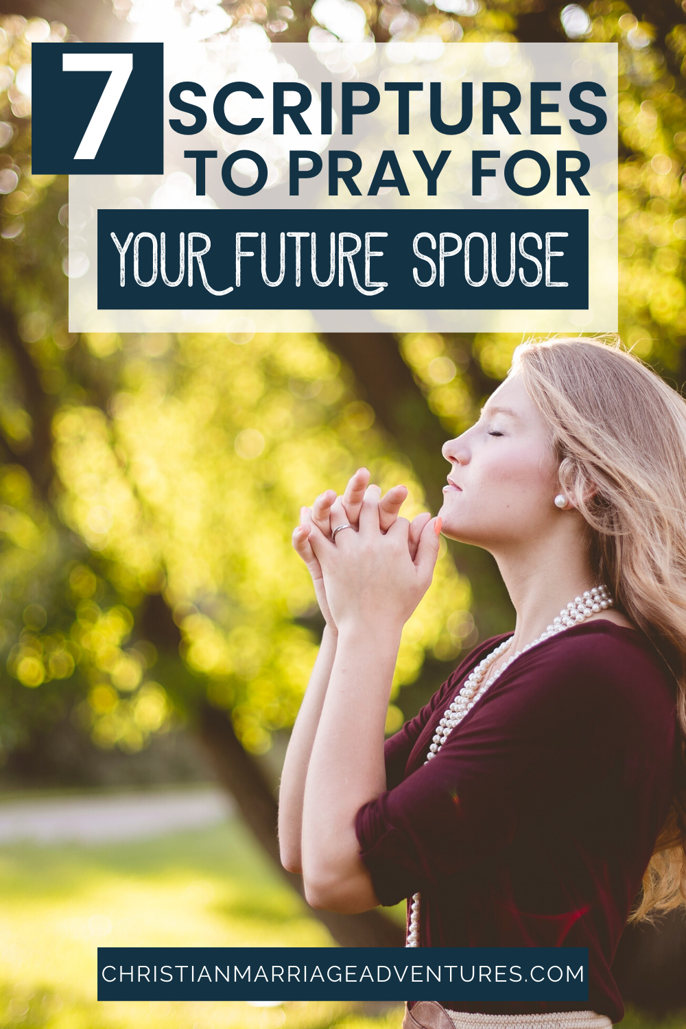 One of the wisest things you can do when you are single is to find Scriptures to pray for your future spouse. Come see the key areas you should be covering.