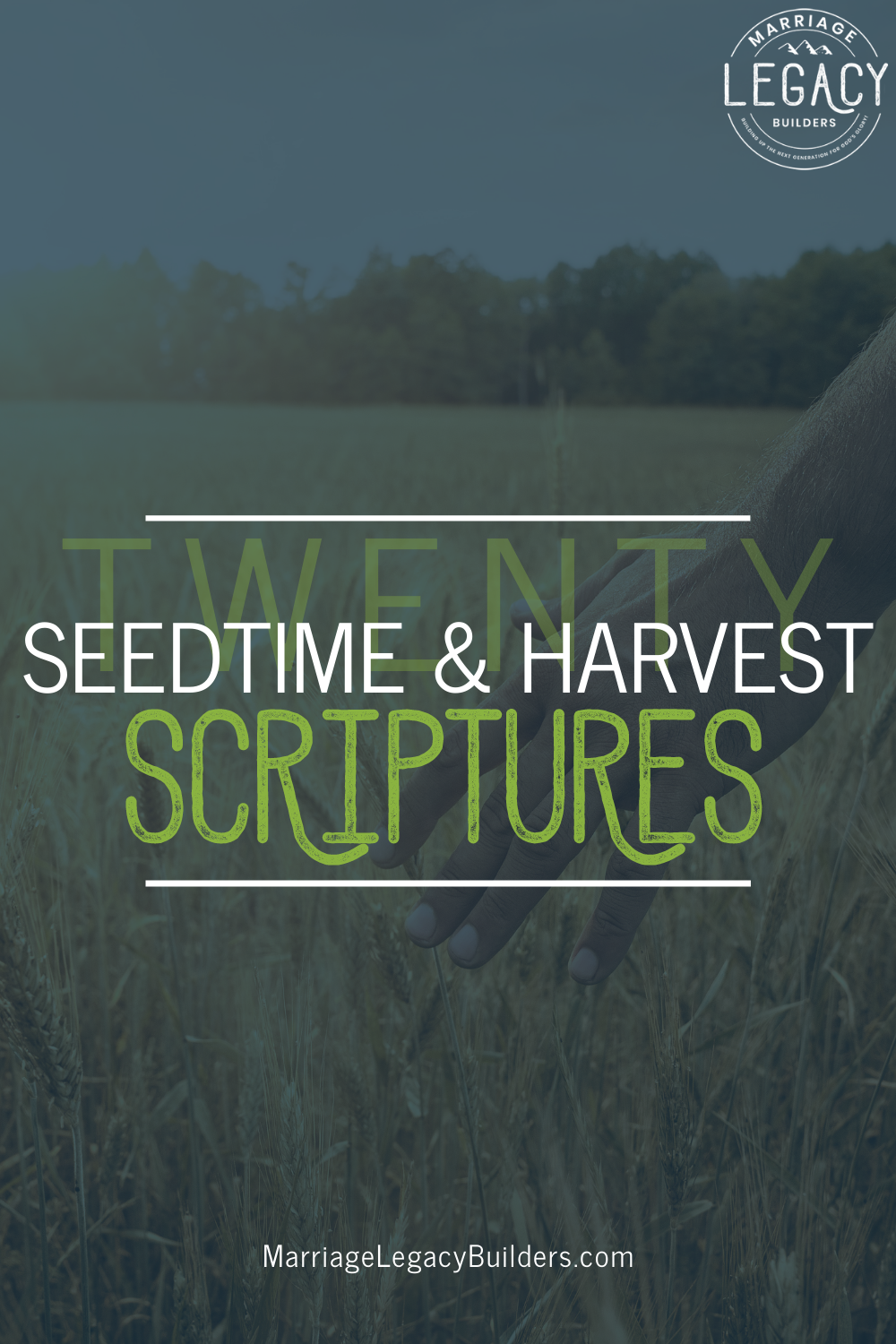 20 Seedtime and Harvest Scriptures